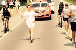 Pan Am torch run